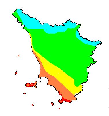 Eliofania_assoluta_media_annua_Toscana_1961-1990