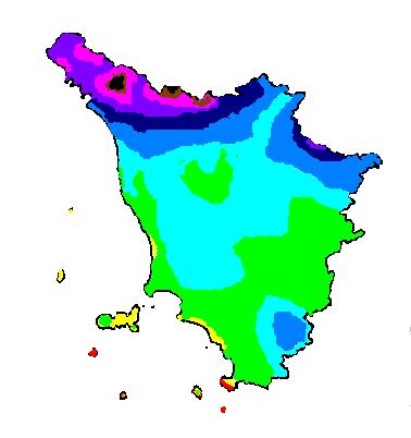 Precipitazioni_medie_Toscana_1961-1990