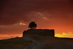 Landschaftsbilder der Toskana