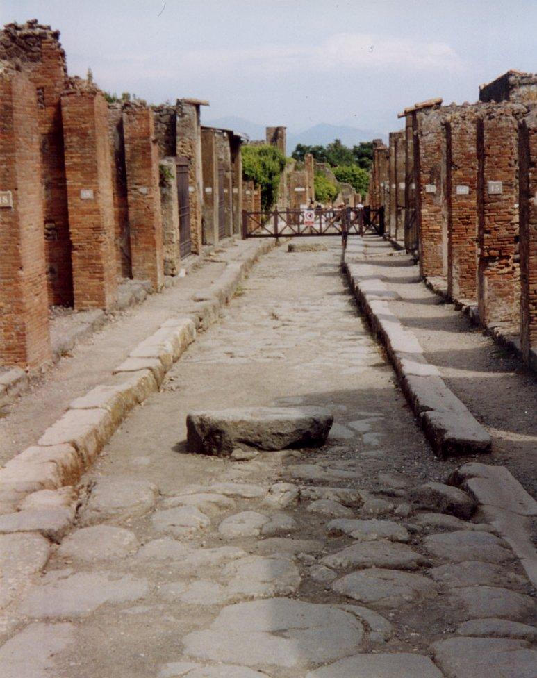 Pompeji-Streets