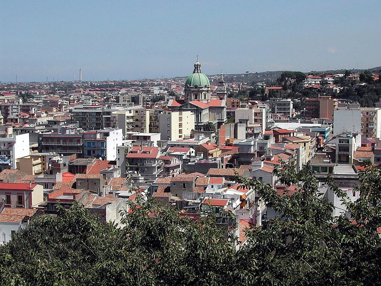 Panorama Barcellona Pozzo di Gotto