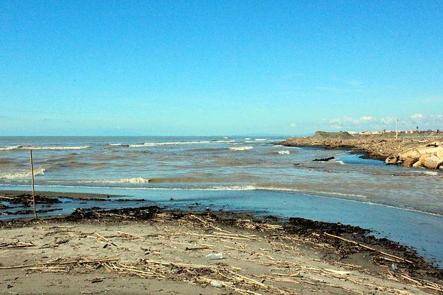 Mündung in das Tyrrhenische Meer