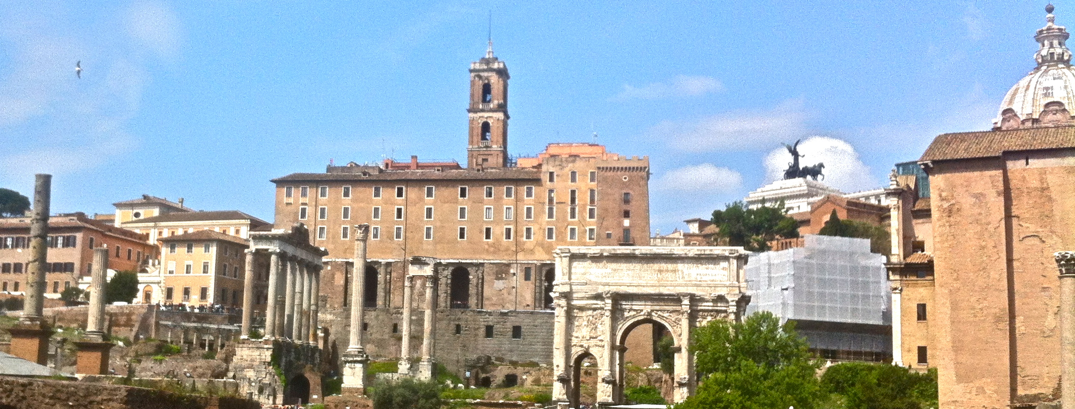 Kapitol und Forum Romanum