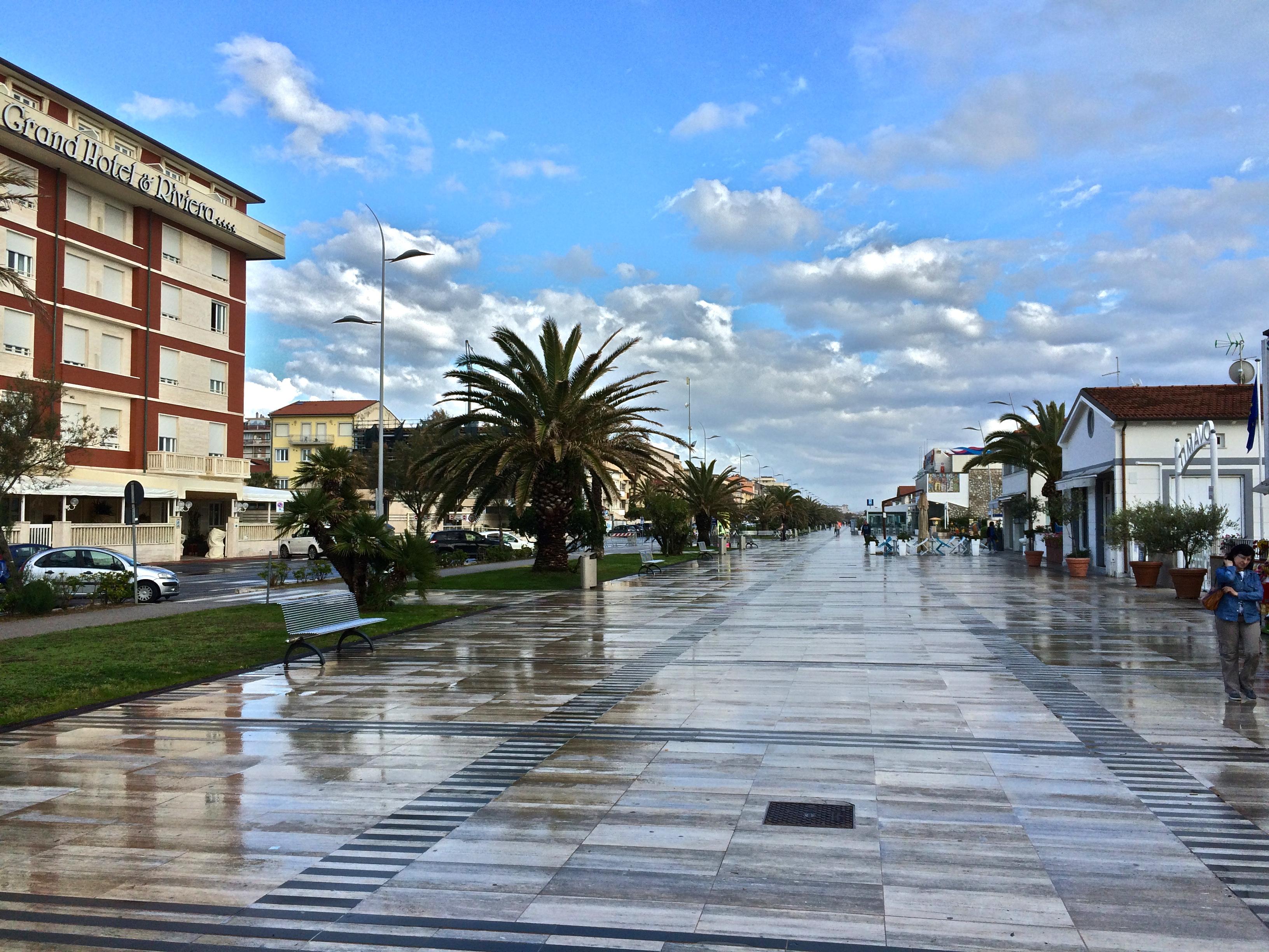 Promenade von Viareggio
