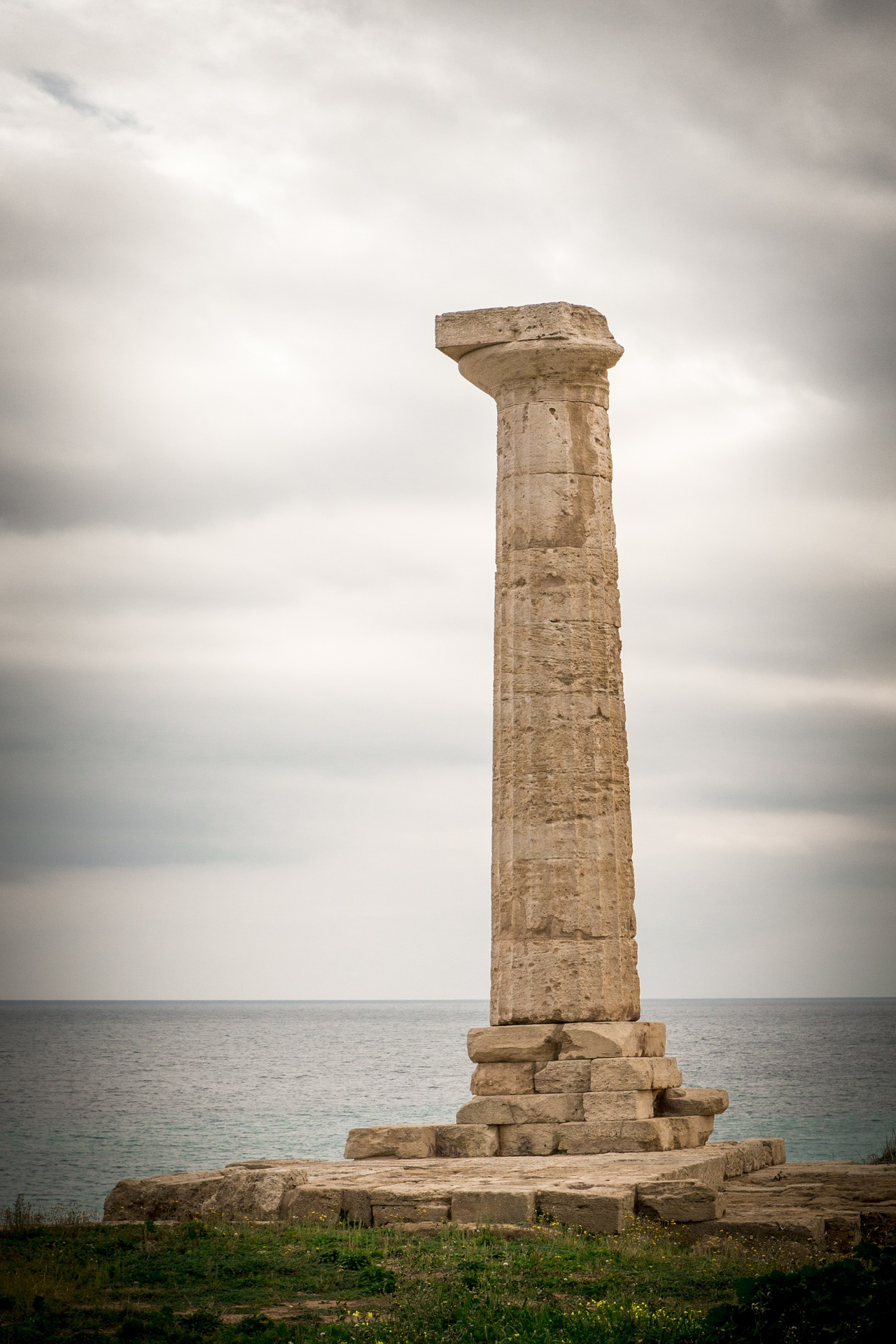Römische Tempelreste von Capo Colonna