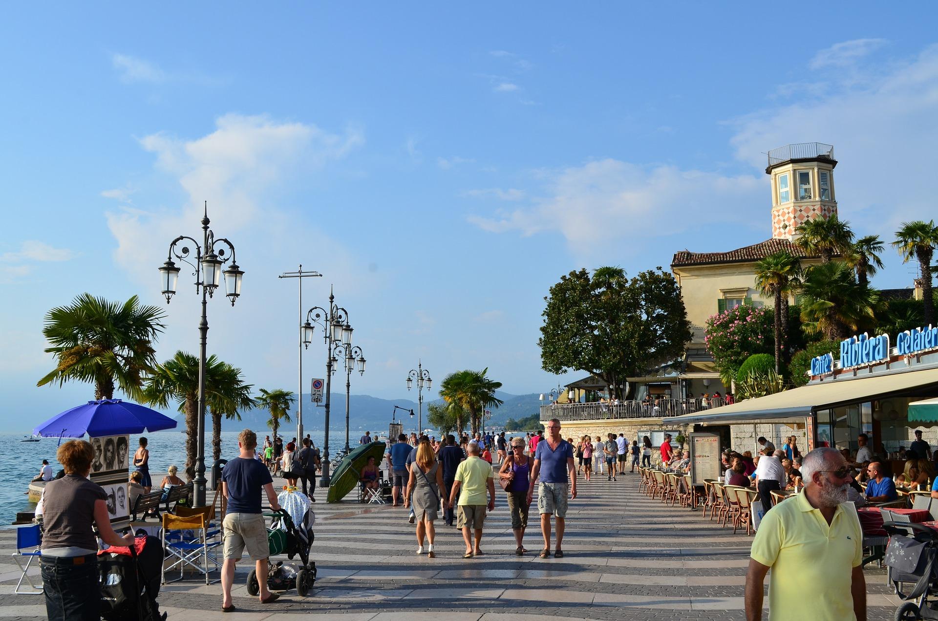 Promenade von Lazise
